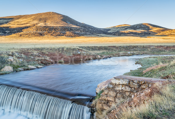 water cascading over a dam  Stock photo © PixelsAway