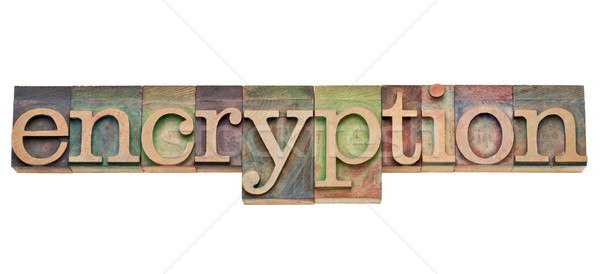 encryption - security concept Stock photo © PixelsAway