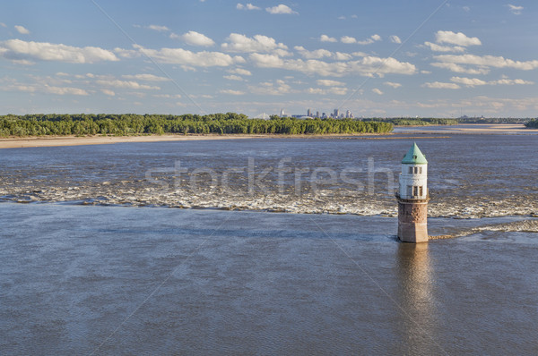 Mississippi River above St Louis Stock photo © PixelsAway