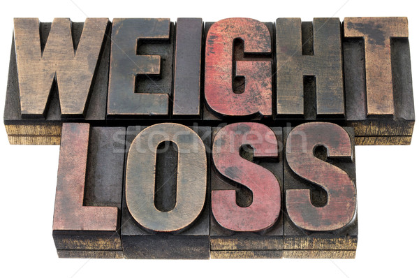 weight loss in wood type Stock photo © PixelsAway