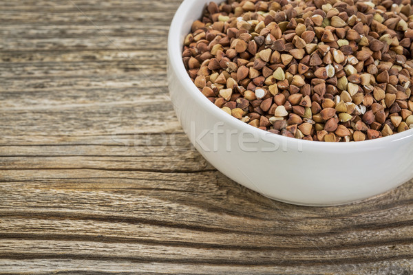 buckwheat grain kasha Stock photo © PixelsAway