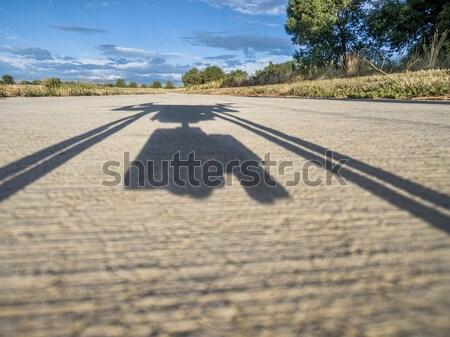 hexacopter drone shadow Stock photo © PixelsAway