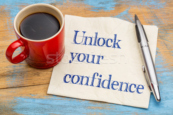 Unlock your confidence advice  Stock photo © PixelsAway