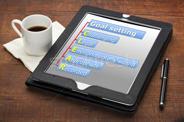 clear goal setting concept  Stock photo © PixelsAway