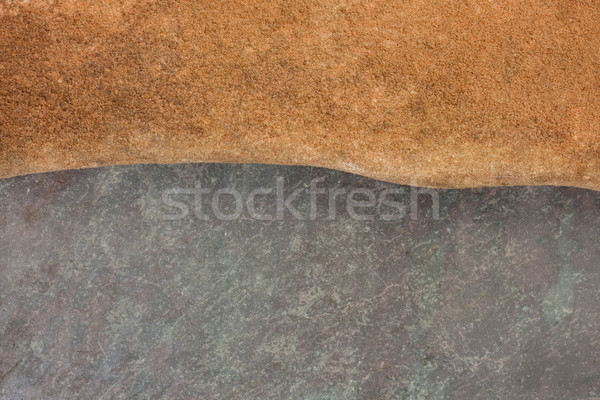 abstract landscape with red sandstone and slate rock Stock photo © PixelsAway