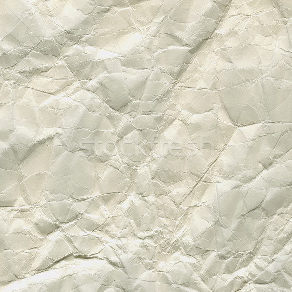 thick white crumpled paper texture Stock photo © PixelsAway