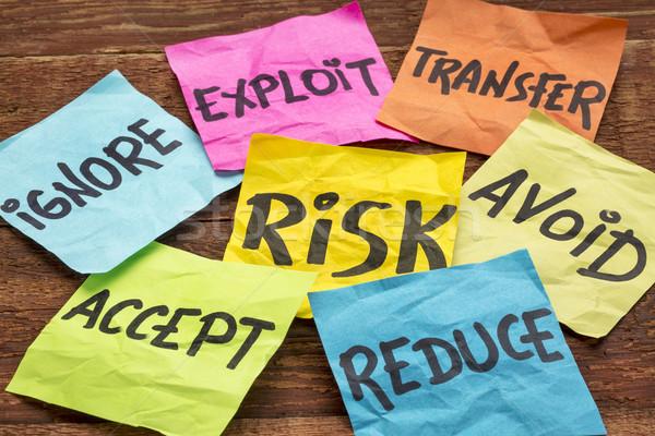 Управление рисками передача красочный управления Сток-фото © PixelsAway