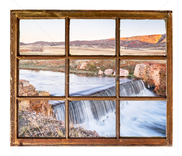 dam on creek at Colorado foothills windo view Stock photo © PixelsAway