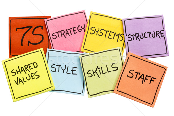 Cultura análisis desarrollo modelo personal Foto stock © PixelsAway