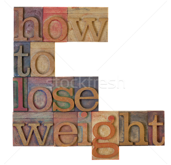 how to loose weight Stock photo © PixelsAway