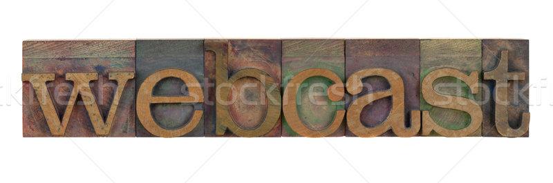webcast Stock photo © PixelsAway