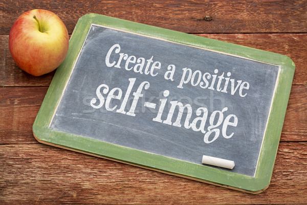 Create positive self image Stock photo © PixelsAway