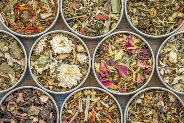 herbal blend tea collection Stock photo © PixelsAway