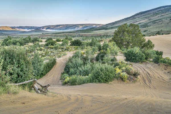 trails in North Sand Hills Stock photo © PixelsAway