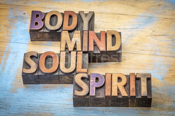 тело ума душа дух слово аннотация Сток-фото © PixelsAway