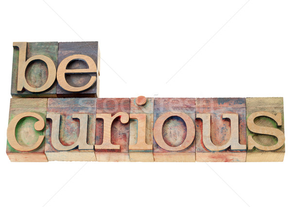 be curious suggestion Stock photo © PixelsAway