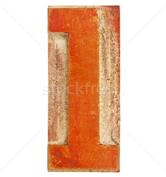 Stock fotó: Legelső · piros · fa · izolált · magasnyomás