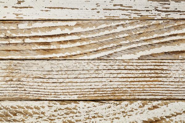 grunge white painted wood Stock photo © PixelsAway