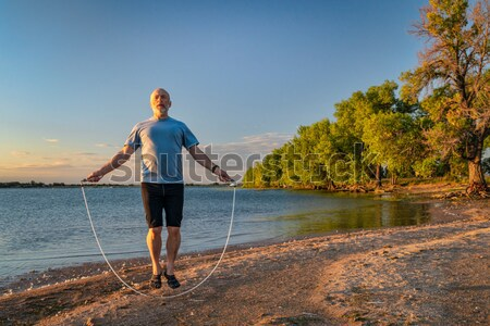 stand up paddling - SUP Stock photo © PixelsAway