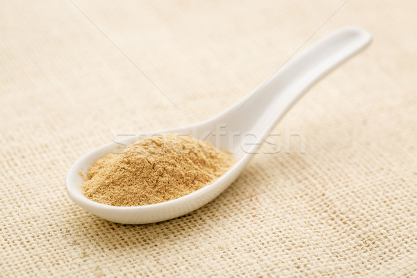 Ginseng root poudre organique blanche chinois Photo stock © PixelsAway