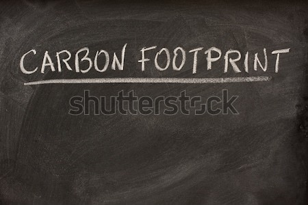 white chalk smudges on a blackboard Stock photo © PixelsAway