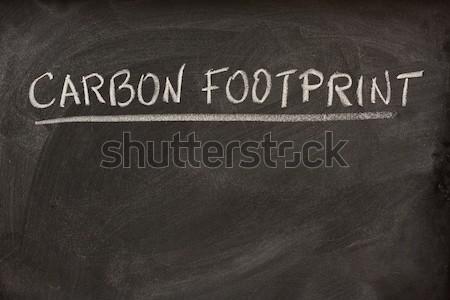 Fehér kréta iskolatábla por radír Stock fotó © PixelsAway