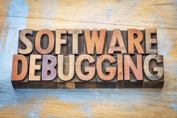 software debugging word abstract Stock photo © PixelsAway