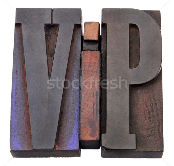 vip (very important person) acronym Stock photo © PixelsAway
