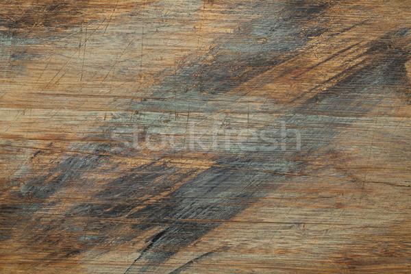 描いた スクラッチ 木の質感 古い まな板 ストックフォト © PixelsAway