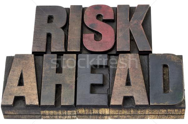 risk ahead in woo dtype Stock photo © PixelsAway