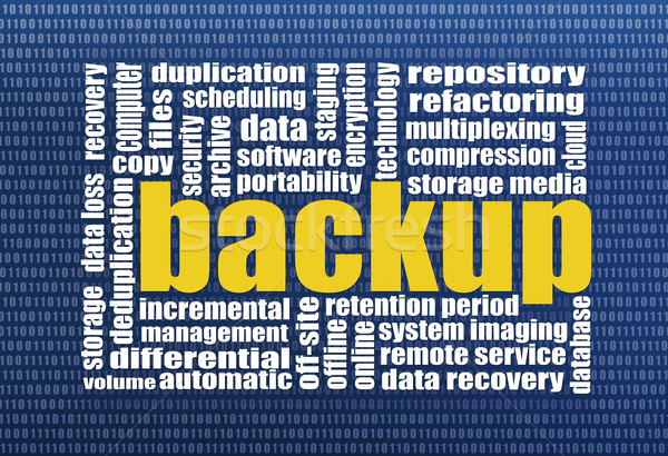 backup and data recovery  Stock photo © PixelsAway