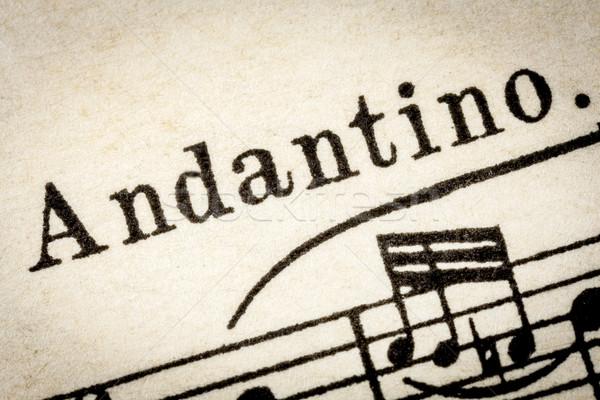 замедлять музыку ходьбе макроса подробность Vintage Сток-фото © PixelsAway