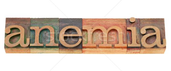 Kelime tip sağlık sorun yalıtılmış Stok fotoğraf © PixelsAway