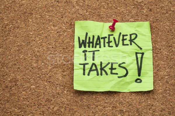 whatever it takes  Stock photo © PixelsAway