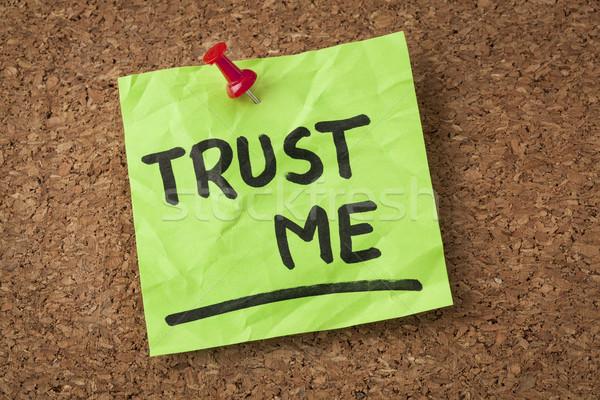 trust me Stock photo © PixelsAway