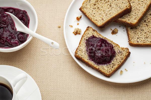 gluten free bread breakfast Stock photo © PixelsAway