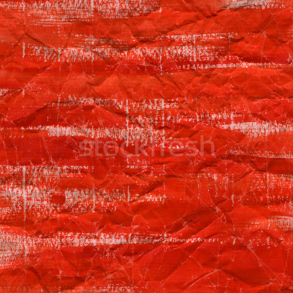red watercolor background on crumpled paper Stock photo © PixelsAway