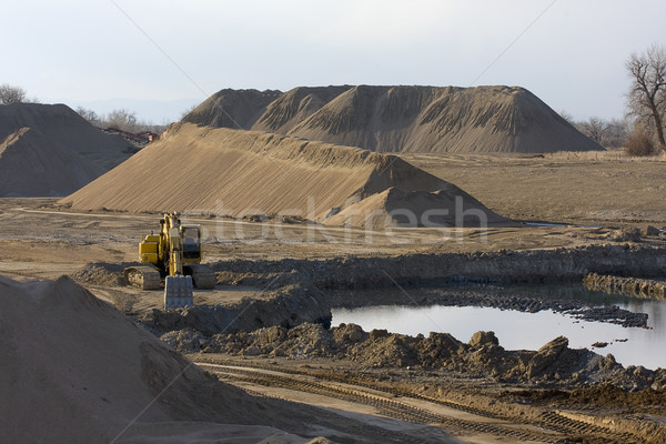 gravel mining  Stock photo © PixelsAway