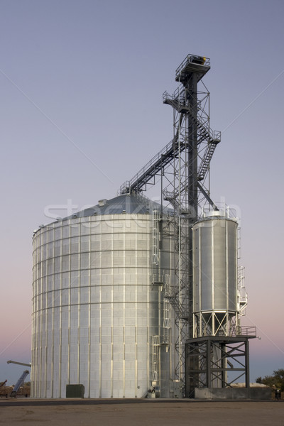 newly constructed grain silo and elevator Stock photo © PixelsAway