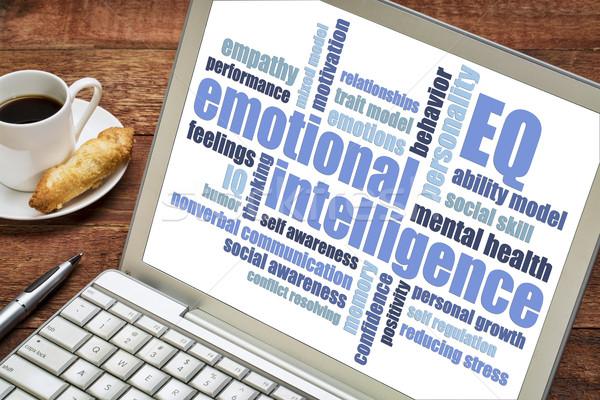 emotional intelligence (EQ) word cloud Stock photo © PixelsAway