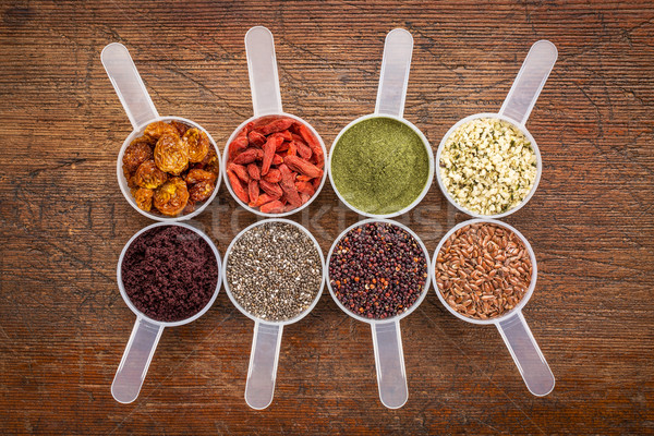 superfood abstract scoop collection Stock photo © PixelsAway