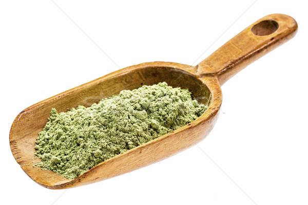 Orgánico cebada hierba polvo rústico Foto stock © PixelsAway