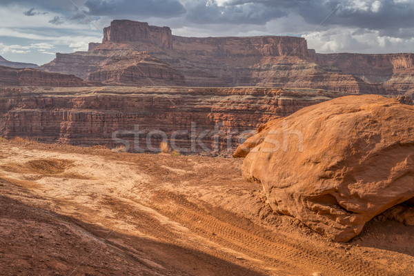 Chicken Corner road near Moab, Utah Stock photo © PixelsAway