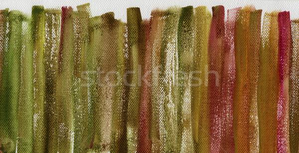 grunge multicolor painted canvas texture Stock photo © PixelsAway