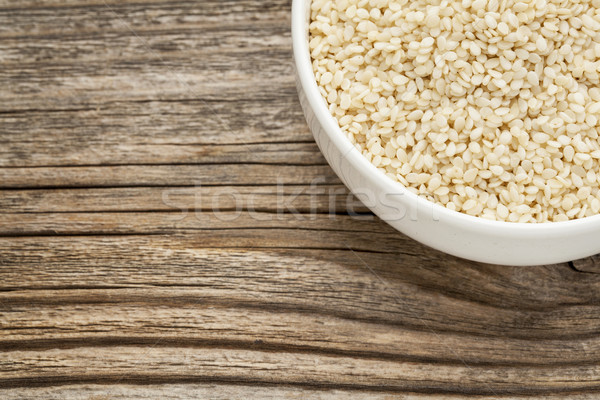 unhulled sesame seeds Stock photo © PixelsAway
