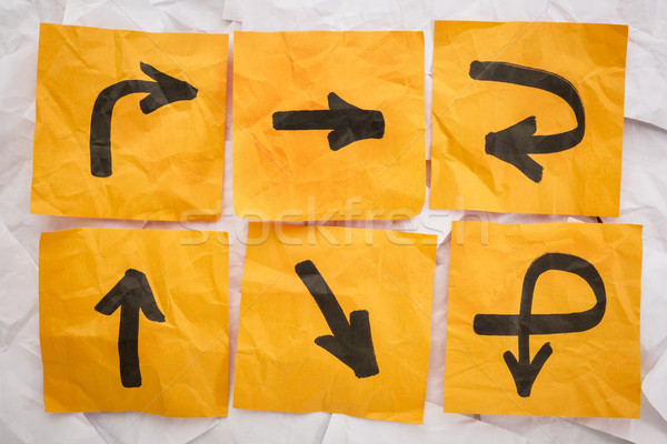 confusing directions Stock photo © PixelsAway
