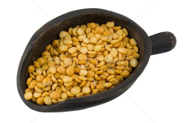 scoop of yellow split peas Stock photo © PixelsAway