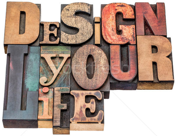 design your life word abstract Stock photo © PixelsAway