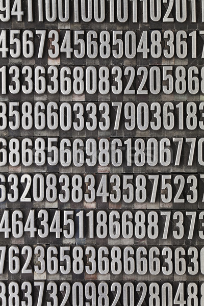 random numbers background Stock photo © PixelsAway