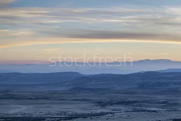 dusk over Rocky Mountains Stock photo © PixelsAway